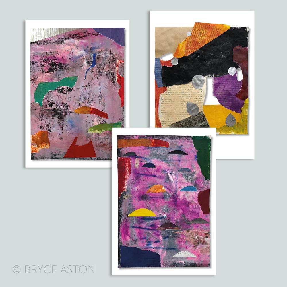 Bryce Aston Collage Series I